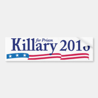 刑務所2016年のためのKillary (ヒラリー) バンパーステッカー