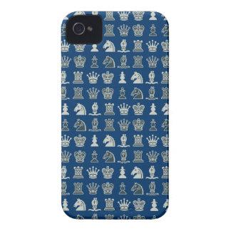 列の青のiphone 4ケースの駒 Case-Mate iPhone 4 ケース