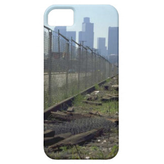 列車およびトラック-すたれたトラック iPhone SE/5/5s ケース