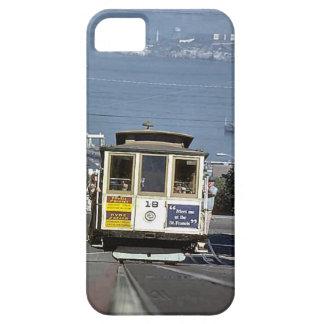 列車およびトラック-サンFransesco iPhone SE/5/5s ケース