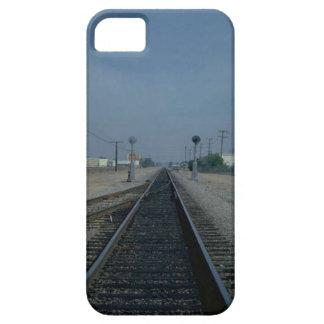 列車およびトラック-ローカル停止 iPhone SE/5/5s ケース