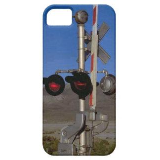 列車およびトラック-信号 iPhone SE/5/5s ケース