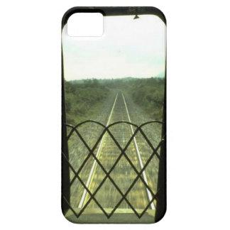 列車およびトラック-前方のトラック iPhone SE/5/5s ケース