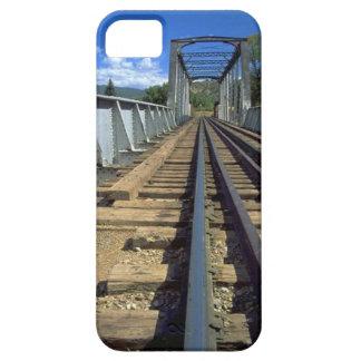 列車およびトラック-前方の橋 iPhone SE/5/5s ケース