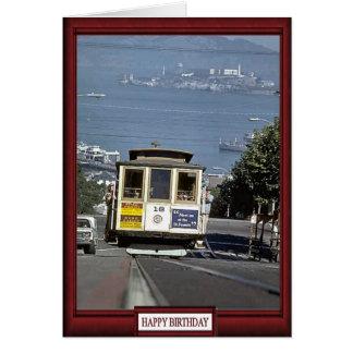 列車およびトラック-次の停止Alcatraz カード
