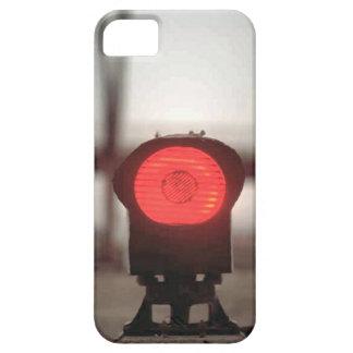 列車およびトラック-赤灯 iPhone SE/5/5s ケース