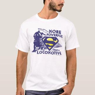 列車およびロゴ Tシャツ