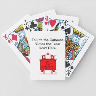 列車が気にしない車掌車のへの話「十字! バイスクルトランプ