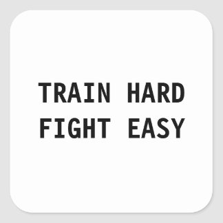 列車の懸命、戦いの簡単のステッカー スクエアシール