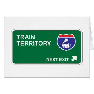 列車の次の出口 カード