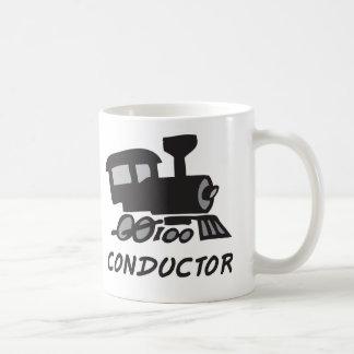 列車の車掌 コーヒーマグカップ