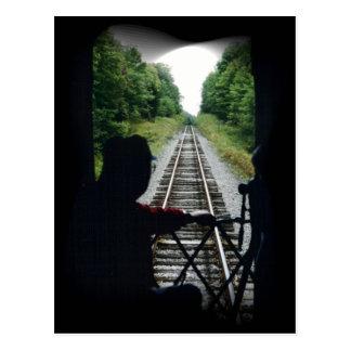 列車の車掌 ポストカード