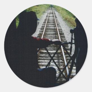 列車の車掌 ラウンドシール