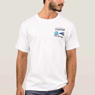 列車を取って下さい! -ガスの苦痛のためのレリーフ、浮き彫り Tシャツ