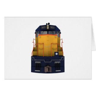 列車エンジン: チェサピークの色彩の配合: カード