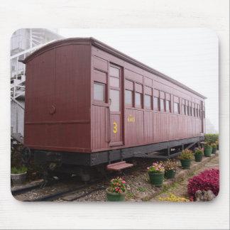 列車キャリッジレストラン マウスパッド