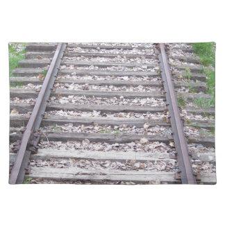 列車トラック ランチョンマット