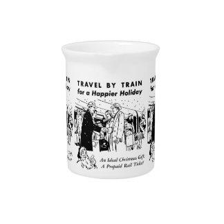 列車ペンシルバニアの鉄道による旅行 ピッチャー