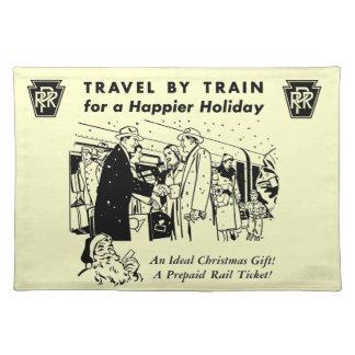 列車ペンシルバニアの鉄道による旅行 ランチョンマット