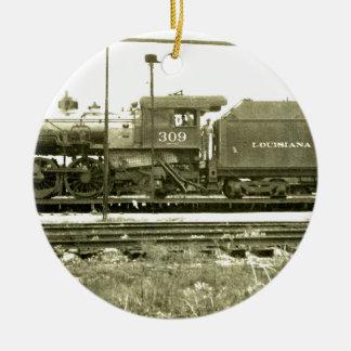 列車停止 セラミックオーナメント