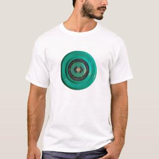 列車開放された緑ボタンセンサーのacces tシャツ