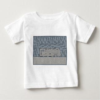 列車 ベビーTシャツ