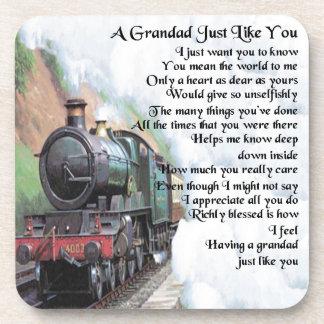 列車-祖父の詩 コースター