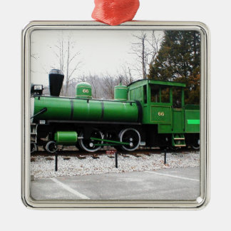 列車- Copy.JPGの表示自然なトンネルの州立公園 メタルオーナメント