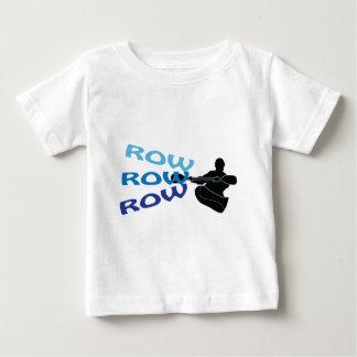 列、列、列 ベビーTシャツ