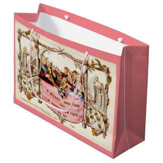 初めてのクリスマスカード ラージペーパーバッグ