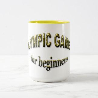 初心者のためのオリンピック大会 ツートーンマグカップ