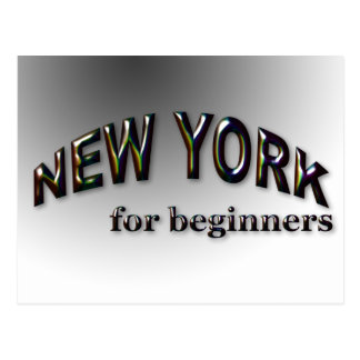 初心者のためのニューヨーク ポストカード
