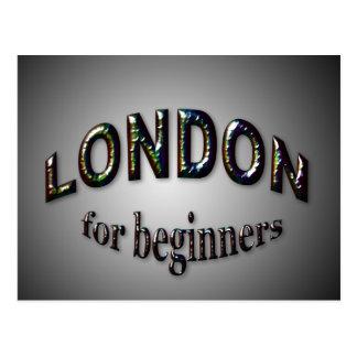 初心者のためのロンドン ポストカード