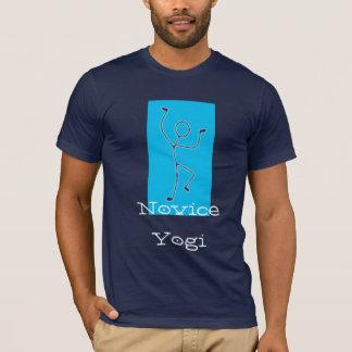 初心者のヨーガ行者のTシャツ Tシャツ