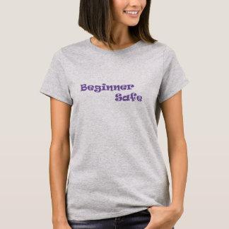 初心者の安全な乗馬のTシャツ-薄紫 Tシャツ
