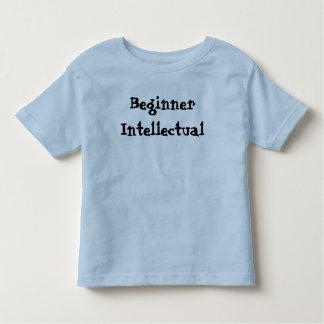 初心者の知的な幼児のワイシャツ トドラーTシャツ