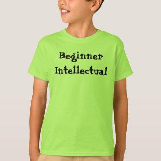初心者の知識人のワイシャツ Tシャツ