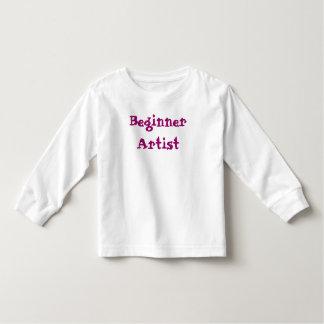初心者の芸術家のワイシャツ トドラーTシャツ