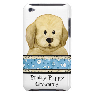 初恋のブラウン犬の足の小犬の救助のグループ Case-Mate iPod TOUCH ケース