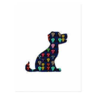 初恋犬のペットNVN96 NavinJOSHIのおもしろい ポストカード
