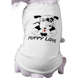 初恋犬のTシャツ ペット服