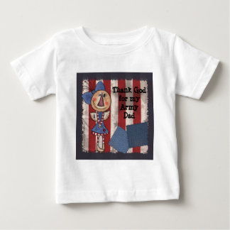 初期のなアメリカの天使 ベビーTシャツ