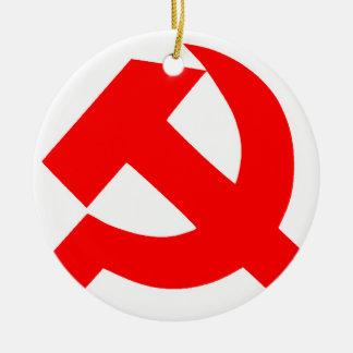 初期のなソ連国旗ソビエト連邦CCCP セラミックオーナメント