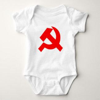 初期のなソ連国旗ソビエト連邦CCCP ベビーボディスーツ