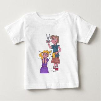 初等中学校の恐怖 ベビーTシャツ