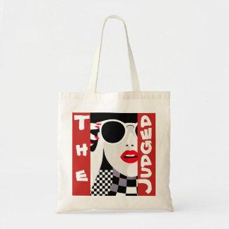 判断された都市女の子の予算のトート トートバッグ