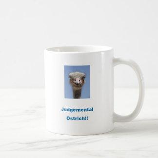 判断のだちょう!!! コーヒーマグカップ