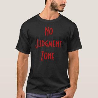 判断の地帯無し Tシャツ