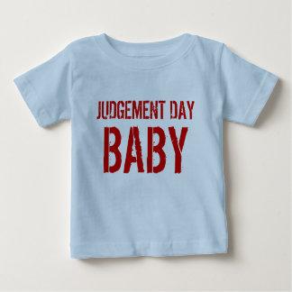 判決日のベビーのワイシャツ ベビーTシャツ