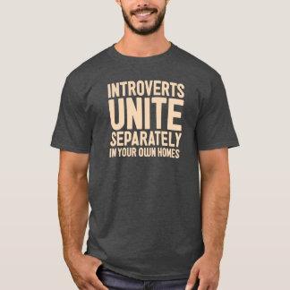 別に結合します内に向けます。 そしてあなた自身の家で Tシャツ